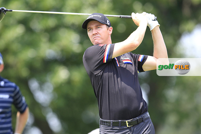 Jimmy WALKER (USA) tees off the 14th tee during Friday's Round 2 of the WGC Bridgestone Invitational, held at the Firestone Country Club, Akron, Ohio.: Picture Eoin Clarke, www.golffile.ie: 1st August 2014
