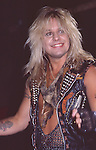 Vince Neil of Motley Crue at Girls Girls Girls Video taping in Hollywood May 1987