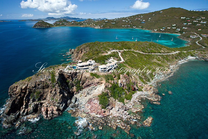 "Villa ""Marea"" high atop Ditlef Point, St. John.U.S. Virgin Islands"