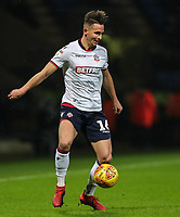 Bolton Wanderers' Pawel Olkowski <br /> <br /> Photographer Andrew Kearns/CameraSport<br /> <br /> The EFL Sky Bet Championship - Bolton Wanderers v West Bromwich Albion - Monday 21st January 2019 - University of Bolton Stadium - Bolton<br /> <br /> World Copyright © 2019 CameraSport. All rights reserved. 43 Linden Ave. Countesthorpe. Leicester. England. LE8 5PG - Tel: +44 (0) 116 277 4147 - admin@camerasport.com - www.camerasport.com