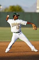 Corey Wimberly, seen here rehabbing an injury with the  AZL Athletics - 2009 Arizona League.Photo by:  Bill Mitchell/Four Seam Images.