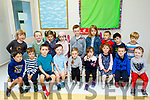 Castlegregory National school welcomed 18 junior infants to their school yesturday Wednesday August 29 and all looked very happy.