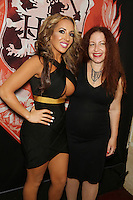 Richelle Ryan, Lainie Speiser at <br /> Headquarters Gentleman's Club, <br /> New York, <br /> Friday, July 25, 2014