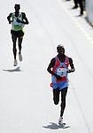 ATLETIKA, Beograd, 18. aprila 2009. - Kenijski atleticar Kigen Victor Kiplagat pobednik je 22. Beogradskog maratona. FOTO  NENAD NEGOVANOVIC