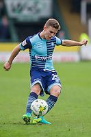 Dominic Gape of Wycombe Wanderers during the Sky Bet League 2 match between Yeovil Town and Wycombe Wanderers at Huish Park, Yeovil, England on 8 October 2016. Photo by Mark  Hawkins / PRiME Media Images.