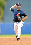 11 March 2008: Cleveland Indians' pitcher Edward Mujica on the mound during a Spring Training game against the Detroit Tigers at Chain of Lakes Park, in Winter Haven Florida. The Tigers rallied to defeat the Indians 4-2 in the Grapefruit League matchup...Mandatory Photo Credit: Ed Wolfstein Photo