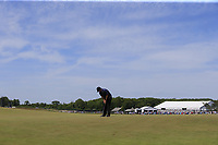 Patrick Reed (USA) putts on the 8th green during Saturday's Round 3 of the 118th U.S. Open Championship 2018, held at Shinnecock Hills Club, Southampton, New Jersey, USA. 16th June 2018.<br /> Picture: Eoin Clarke | Golffile<br /> <br /> <br /> All photos usage must carry mandatory copyright credit (&copy; Golffile | Eoin Clarke)