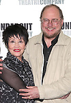 Chita Rivera and Rupert Holmes attend the Photo Call for the cast of Roundabout Theatre Company's 'The Mystery of Edwin Drood' in their New York City rehearsal hall. 10/2/2012