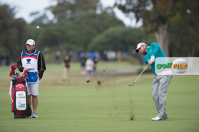 Mark Leishman (AUS) during round 3 at the ISPS Handa World Cup of Golf, from Kingston heath Golf Club, Melbourne Australia. 26/11/2016<br /> Picture: Golffile | Anthony Powter<br /> <br /> <br /> All photo usage must carry mandatory copyright credit (&copy; Golffile | Anthony Powter)