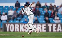 Picture by Allan McKenzie/SWpix.com - 06/09/2017 - Cricket - Specsavers County Championship - Yorkshire County Cricket Club v Middlesex County Cricket Club - Headingley Cricket Ground, Leeds, England - Yorkshire's Jack Leaning hits out against Middlesex on his way to 85.