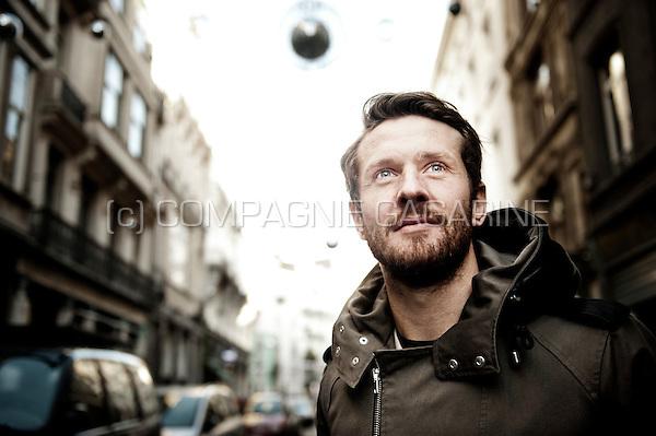 French football player Damien Marcq (Belgium, 04/12/2015)