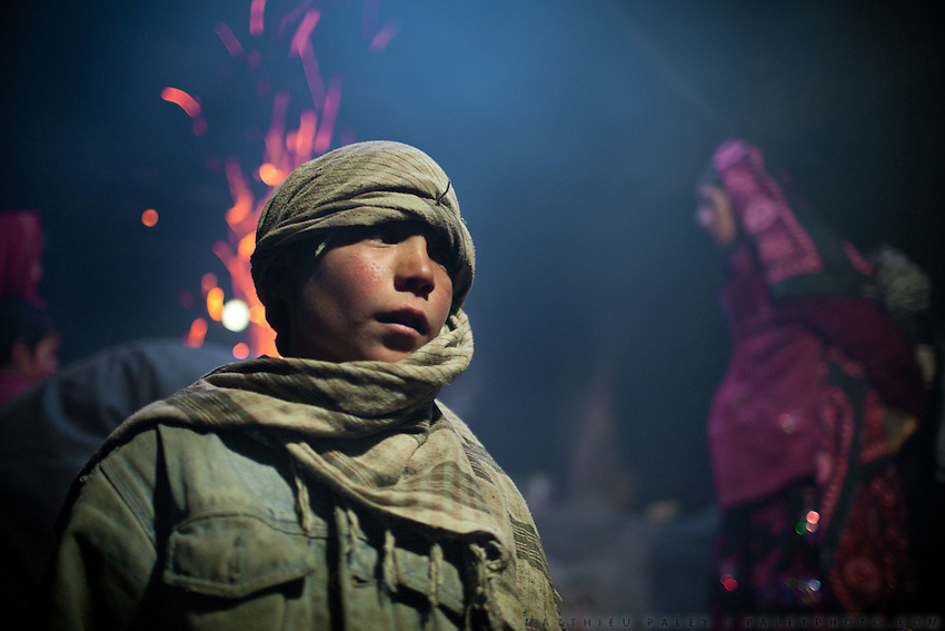 A Wakhi boy..Inside Wakhi houselhold (local ethinc group), in Sarhad village, end of the road in the Wakhan Corridor.