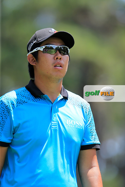 Byeong-Hun An (KOR) during round 2 of the Players, TPC Sawgrass, Championship Way, Ponte Vedra Beach, FL 32082, USA. 13/05/2016.<br /> Picture: Golffile | Fran Caffrey<br /> <br /> <br /> All photo usage must carry mandatory copyright credit (&copy; Golffile | Fran Caffrey)