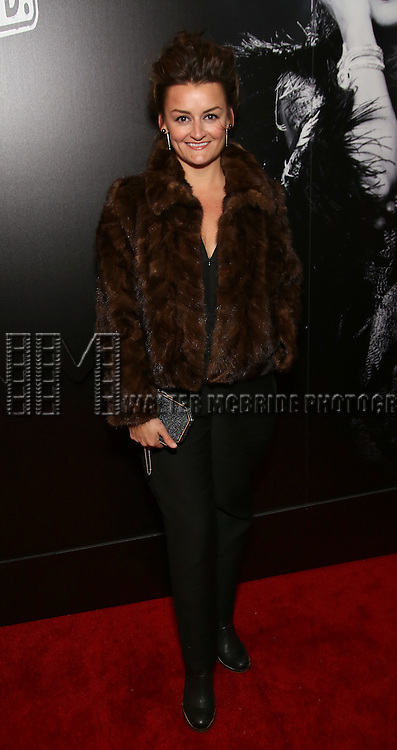 Alison Wright attends the Broadway Opening Night of Sunset Boulevard' at the Palace Theatre Theatre on February 9, 2017 in New York City.