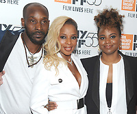 "NEW YORK, NY - OCTOBER 12: Rob Morgan, Mary J. Blige, Dee Rees attend the 55th NYFF World Premiere of ""Mudbound"" at Alice Tully Hall on October 12, 2017 in New York City. Photo Credit: John Palmer/MediaPunch"