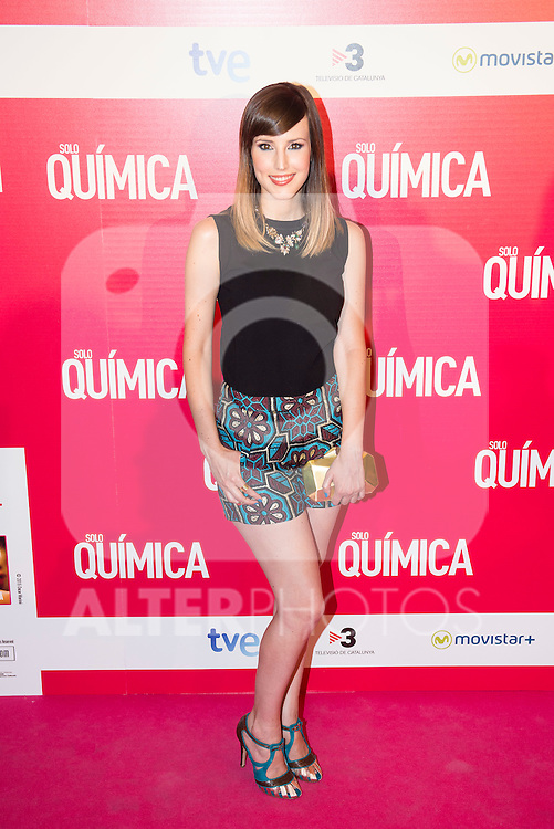 "Natalia de Molina attends the premiere of the film ""Solo Química"" at Palafox Cinema in Madrid, Spain. July 14, 2015.<br />  (ALTERPHOTOS/BorjaB.Hojas)"