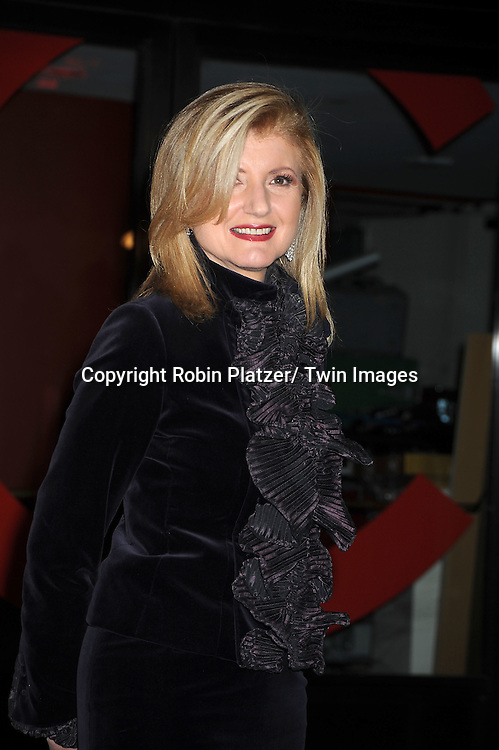 Arianna Huffington attending The Glamour Magazine 20th Annual Women of the Year on November 8, 2010 at Carnegie Hall in New York City.