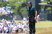 Phil Mickelson (USA) on the 7th green during Saturday's Round 3 of the 118th U.S. Open Championship 2018, held at Shinnecock Hills Club, Southampton, New Jersey, USA. 16th June 2018.<br /> Picture: Eoin Clarke | Golffile<br /> <br /> <br /> All photos usage must carry mandatory copyright credit (&copy; Golffile | Eoin Clarke)