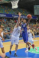 Jarred Dubois (Skyliners) gegen Kenneth Frease (Artland)- Fraport Skyliners vs. Artland Dragons Quakenbrueck, Fraport Arena Frankfurt