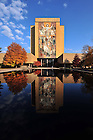 Hesburgh Library Word of Life mural, known as Touchdown Jesus..Photo by Matt Cashore/University of Notre Dame