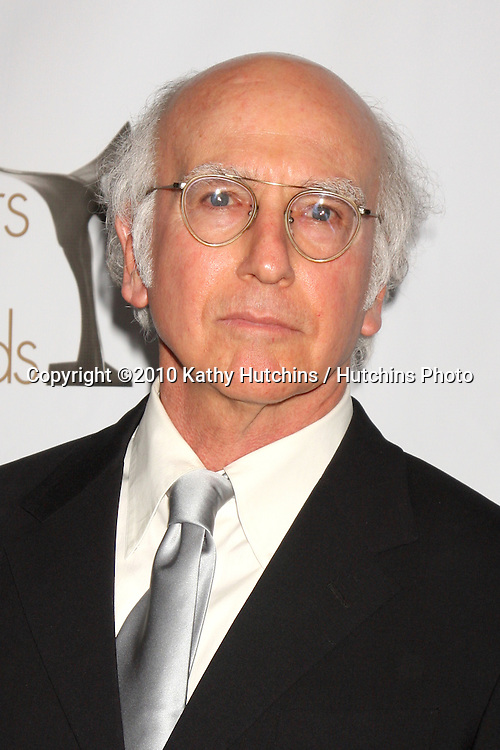 Larry David.arriving at 2010 Writers Guild of America Awards.Century Plaza Hotel.Century City, CA.February 20, 2010.©2010 Kathy Hutchins / Hutchins Photo....