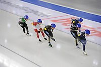 SCHAATSEN: BERLIJN: Sportforum Berlin, 07-12-2014, ISU World Cup, Mass Start Men, ©foto Martin de Jong