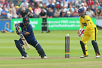 Ashar Zaidi of Essex in batting action during Gloucestershire vs Essex Eagles, NatWest T20 Blast Cricket at The Brightside Ground on 13th August 2017