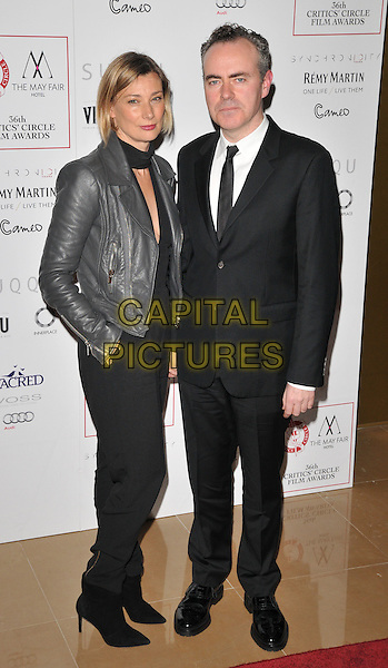 Fiona Weir &amp; John Crowley attend the London Critics' Circle Film Awards 2016, May Fair Hotel, Stratton Street, London, UK, on Sunday 17 January 2016.<br /> CAP/CAN<br /> &copy;CAN/Capital Pictures