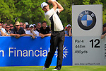 Padraig Harrington tees off on the 12th hole during Round 2 of the BMW PGA Championship at  Wentworth, Surrey, England...Photo Golffile/Eoin Clarke.(Photo credit should read Eoin Clarke www.golffile.ie)....This Picture has been sent you under the condtions enclosed by:.Newsfile Ltd..The Studio,.Millmount Abbey,.Drogheda,.Co Meath..Ireland..Tel: +353(0)41-9871240.Fax: +353(0)41-9871260.GSM: +353(0)86-2500958.email: pictures@newsfile.ie.www.newsfile.ie.