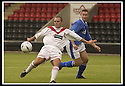 17/8/02               Copyright Pic : James Stewart                     .File Name : stewart-airdrie v stranraer 01.AIRDRIE'S MARTIN GLANCY TAKES A SHOT AT GOAL....James Stewart Photo Agency, 19 Carronlea Drive, Falkirk. FK2 8DN      Vat Reg No. 607 6932 25.Office : +44 (0)1324 570906     .Mobile : + 44 (0)7721 416997.Fax     :  +44 (0)1324 570906.E-mail : jim@jspa.co.uk.If you require further information then contact Jim Stewart on any of the numbers above.........