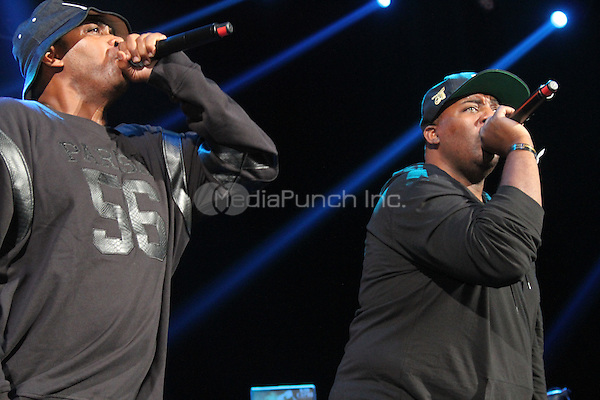 NEW YORK, NY - OCTOBER 17, 2014<br /> <br /> EPMD performs at the Def Jam 30 Anniversary concert at The Barclays Center, October 16, 2014 in New York City.<br /> <br /> <br /> <br /> &copy; Walik Goshorn / MediaPunch