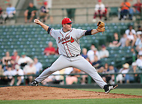 Ryan Basner of the Richmond Braves vs. the Rochester Red Wingss:  May 31st, 2007 at Frontier Field in Rochester, NY. Photo By Mike Janes/Four Seam Images