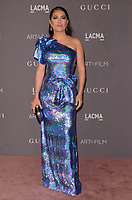 LOS ANGELES, CA - NOVEMBER 04: Salma Hayek at the 2017 LACMA Art + Film Gala Honoring Mark Bradford And George Lucas at LACMA on November 4, 2017 in Los Angeles, California. Credit: David Edwards/MediaPunch /NortePhoto.com