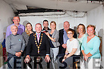 Some of the past and present committee members with the new mayor of Limerick Liam Galvin pictured at the launch of Gather By The Feale 2015 held last Friday night in Jack Ryan's Bar, Abbeyfeale, pictured l-r: Dee Dennisson, Jim O'Connor, Mary Fitzgerald, Mayor Liam Galvin, Mike Scannell, Orla Dennisson, Christy Kelliher, Olive Sheehan, Aine Ryan and Angela O'Rourke.