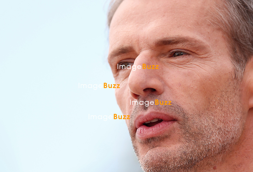 Lambert Wilson, attends a photocall during the 67th Annual Cannes Film Festival.<br /> Cannes, France, May 14, 2014.
