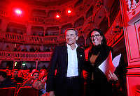 Confronto tra i candidati Sindaco per Napoli<br /> Gianni Lettieri e Valeria Valente