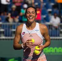 ANDREA PETKOVIC (GER)<br /> <br /> Tennis - MIAMI OPEN 2015 - ATP 1000 - WTA Premier -  Crandon park Tennis Centre  - Miami - United States of America - 2015<br /> &copy; AMN IMAGES