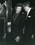 Harrison Ford  attending the Movie Premiere of TERMS OF ENDEARMENT, in New York City. 1983