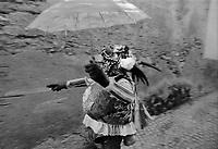 A Schignano, Val d'Intelvi, provincia di Como, uno dei carnevali più antichi della Lombardia