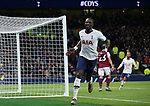 Tottenham's Moussa Sissoko celebrates after he scores to make it 5-0 during the Premier League match at the Tottenham Hotspur Stadium, London. Picture date: 7th December 2019. Picture credit should read: Paul Terry/Sportimage