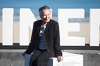 Actress Amparo Badiola poses during `Amama´ film presenation at 63rd Donostia Zinemaldia (San Sebastian International Film Festival) in San Sebastian, Spain. September 21, 2015. (ALTERPHOTOS/Victor Blanco) /NortePhoto.com