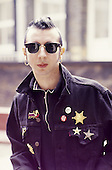 Apr 16, 1987: MARC ALMOND - Photosession in London