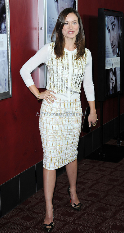 """Olivia Wilde at the Los Angeles premiere of """"Deadfall"""" held at The Archlight Cinema November 29, 2012"""