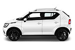 Car driver side profile view of a 2018 Suzuki Ignis GLX 5 Door Hatchback