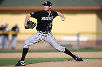 March 13, 2010:  Pitcher Logan Lee of Army vs. Long Island University Blackbirds in a game at Henley Field in Lakeland, FL.  Photo By Mike Janes/Four Seam Images