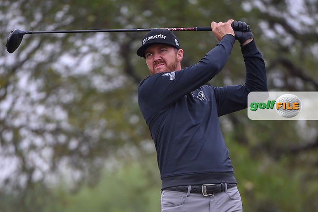 Jimmy Walker (USA) watches his tee shot on 2 during Round 3 of the Valero Texas Open, AT&T Oaks Course, TPC San Antonio, San Antonio, Texas, USA. 4/21/2018.<br /> Picture: Golffile | Ken Murray<br /> <br /> <br /> All photo usage must carry mandatory copyright credit (© Golffile | Ken Murray)