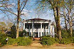 A historic home seen in Greensboro, Alabama, where over a quarter of the population receives Social Security Disability benefits.
