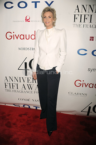 Jane Lynch at the 40th annual Fifi awards at Alice Tully Hall, Lincoln Center on May 21, 2012 in New York City.. Credit: Dennis Van Tine/MediaPunch