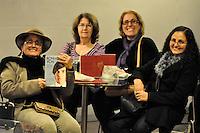 S&Atilde;O PAULO-SP-01,08,2014-RONNIE VON - LAN&Ccedil;AMENTO DO LIVRO-(da esquerda &agrave; direita) Marilena de Aquino (de Vit&oacute;ria-ES)Vera Pedrolo Saraiva:Marisa Wedemann;Magda de Aquino<br />  Lan&ccedil;amento do livro &quot;O Pr&iacute;ncipe que podia ser Rei&quot; na Fnac da Avenida Paulista,regi&atilde;o centro-sul da cidade S&atilde;o Paulo,nessa sexta-feira,01<br /> (Foto:Kevin David /Brazil Photo Press)