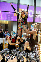 KeSha performs on The Today Show - New York City